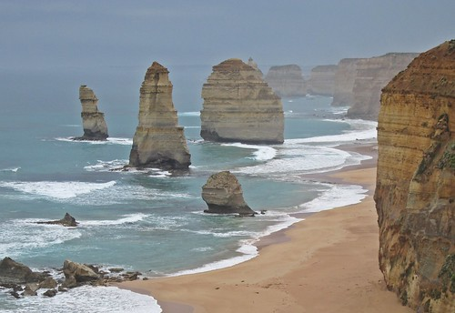 Great Ocean Road - Twelve Apostles in the Rain