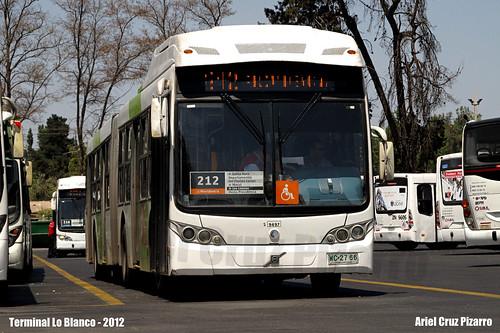 Transantiago - Terminal Lo Blanco (Subus Chile) - Caio Mondego LA / Volvo (WC2788)