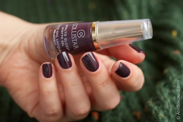 04 Collistar Gloss Nail Lacquer #563 Borgogna Anna