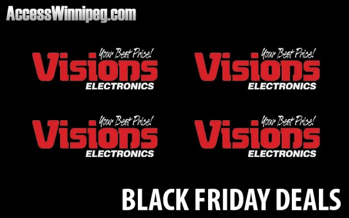 Visions Canada Black Friday Deals 2017