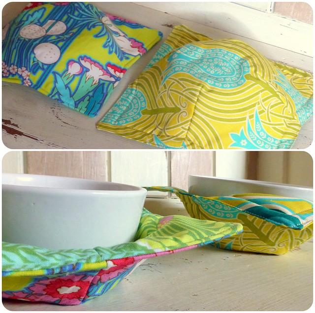 Microwave bowl cosies