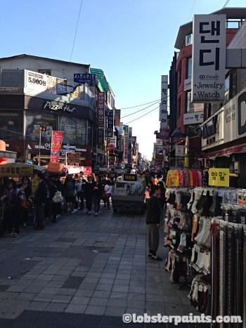 3 Oct 2014: Sungshin University Rodeo Shopping Street | Seoul, South Korea