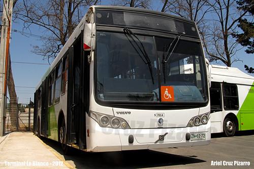 Transantiago - Subus Chile - Caio Mondego L / Volvo (ZN6272)