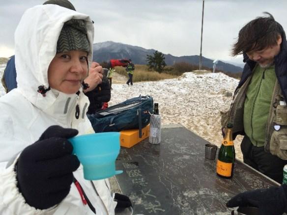 乾杯〜〜!