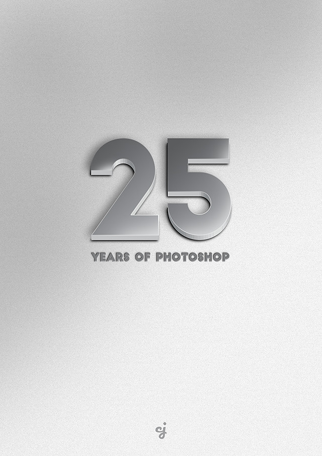 25 Years of Photoshop design