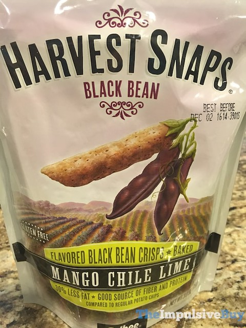 Harvest Snaps Mango Chile Lime Black Bean Crisps