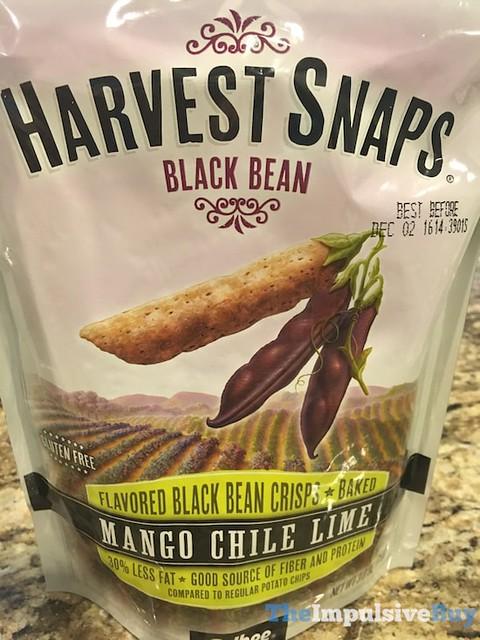 Harvest Snaps Mango Chile Lime Black Bean Crisps