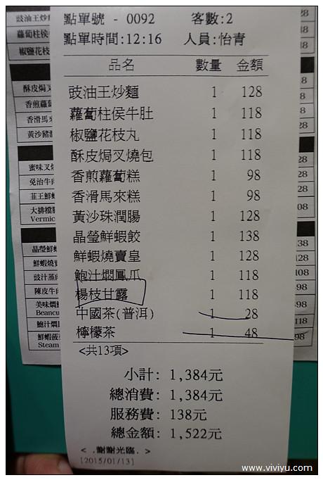 台北,檸檬茶,港式點心,港點,美食,蘿蔔糕,酥皮焗叉燒包,鳳爪 @VIVIYU小世界