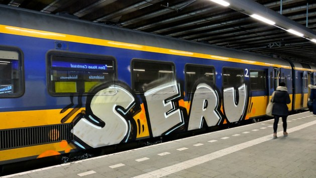 Painted trains