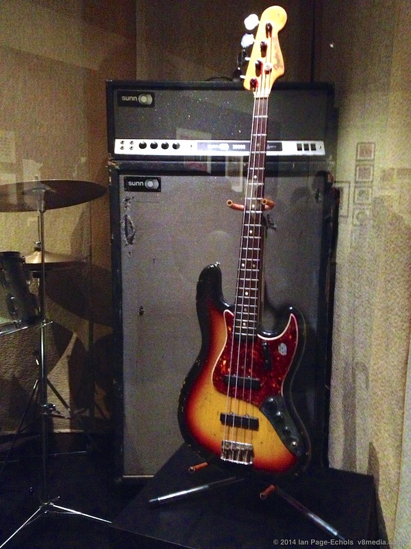 Noel Redding's bass at the EMP