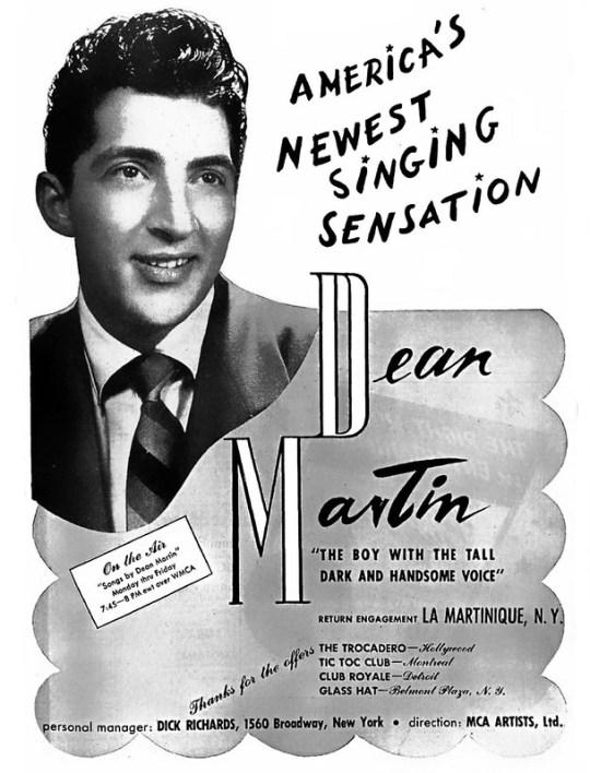 Dean Martin - 1944