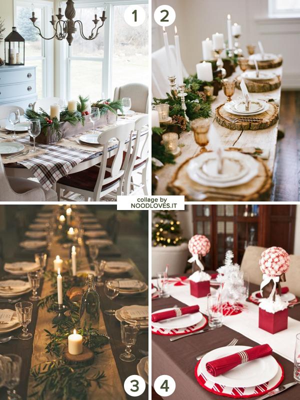 La Tavola di Natale le decorazioni e il bon ton Noodloves