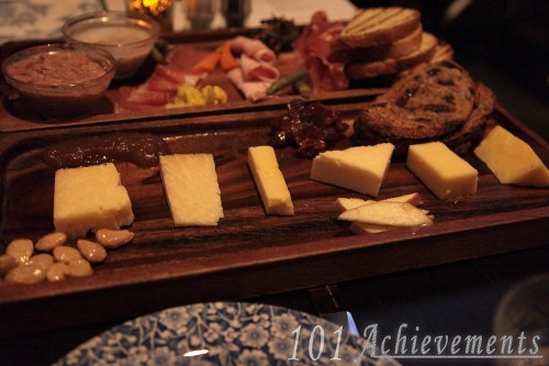 Charcuterie at the Commoner