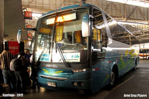 Buses Libac - Santiago (Chile) - Comil Campione 3.65 / Mercedes Benz (CTTC99)