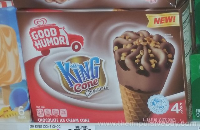Good Humor King Cone Chocolate