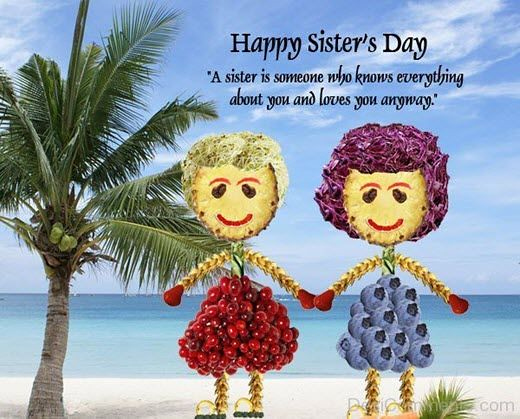 Happy Sisters Day 2019 Wishes Hd Images Messages Quotes