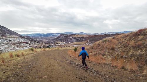 FCTR kids trail run
