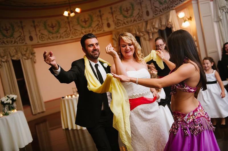 Heidi Erdems Vintage Inspired Turkish American Wedding With A