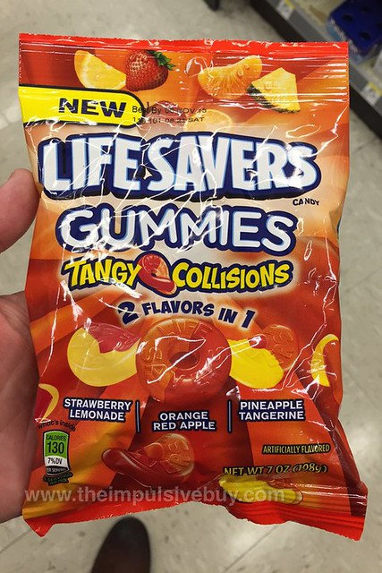 Life Savers Gummies Tangy Collisions