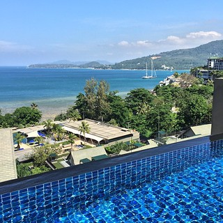 Just finished a swim on this beautiful day in #Phuket