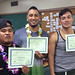 "Proud iCAN graduates Data Sananap, Nathan Paoa and Drew Cox showing off their certificates of completion. For more information on the iCAN Kapiʻolani Community College/McKinley Community School for Adults program, go to <a href=""http://www.kapiolani.hawaii.edu/campus-life/special-programs/ican/"" rel=""nofollow"">www.kapiolani.hawaii.edu/campus-life/special-programs/ican/</a> or email ican.mcsa@gmail.com."