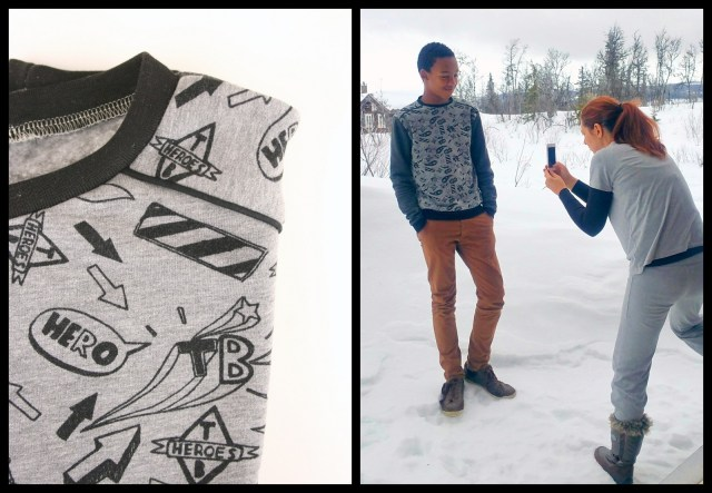 sweater for Norway (collage)