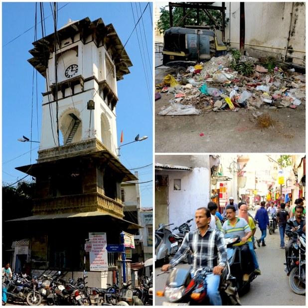 Torre del reloj Udaipur
