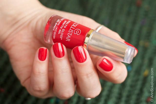05 Collistar Gloss Nail Lacquer #580 Rosso Sofia