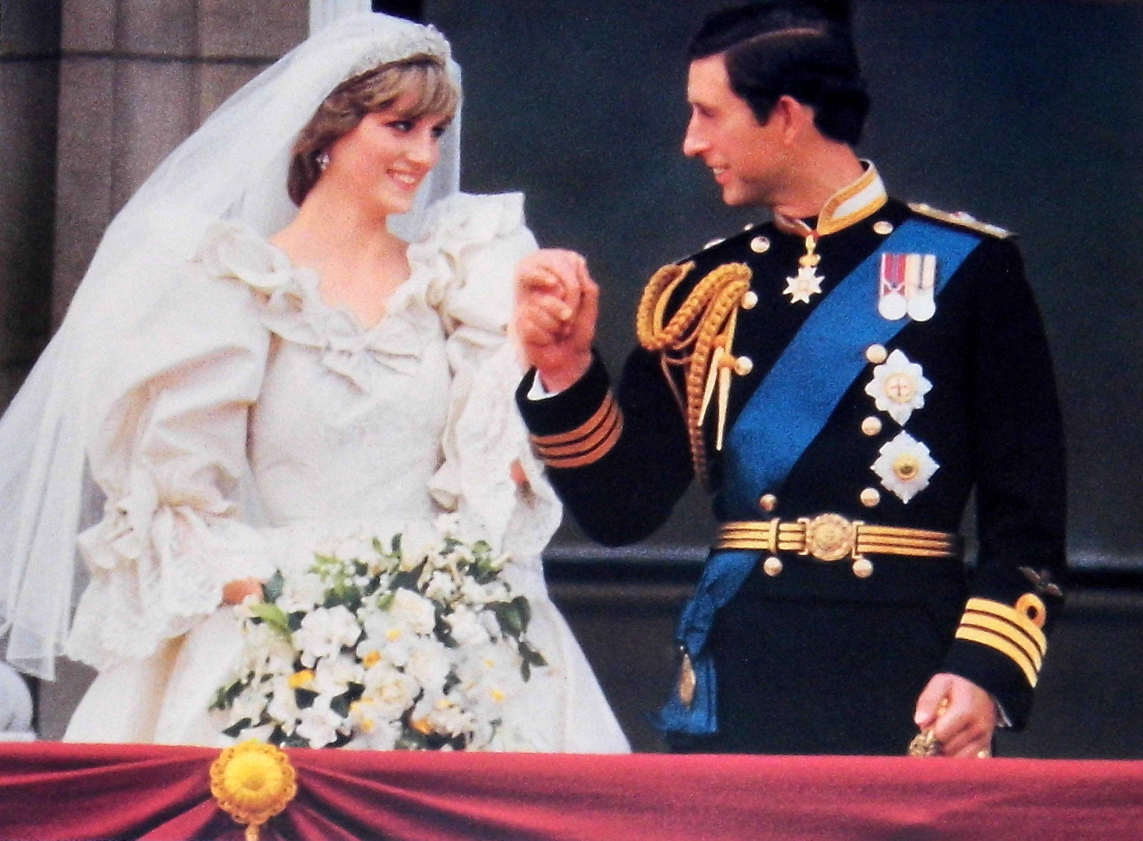 The Wedding of Princess Diana and Prince Charles, Photograph at Buckingham Palace, July 29, 1981