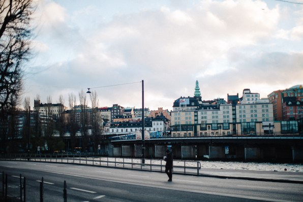 View of Sodermalm from Gamla Stan, Stockholm