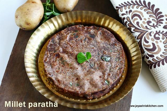 Millet-paratha