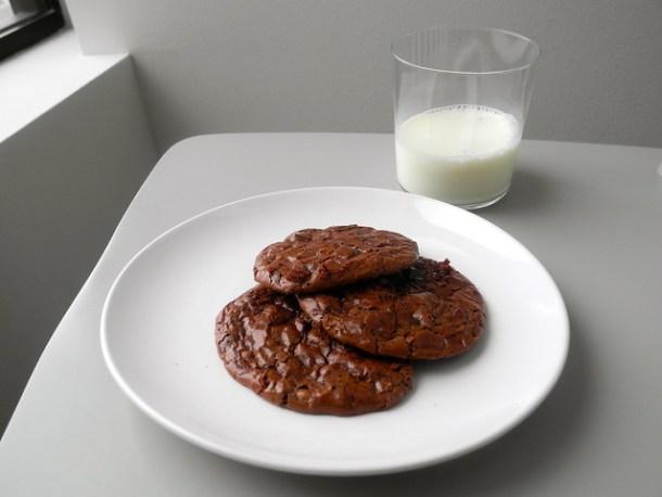 Gluten-Free Chocolate Brownie Cookies
