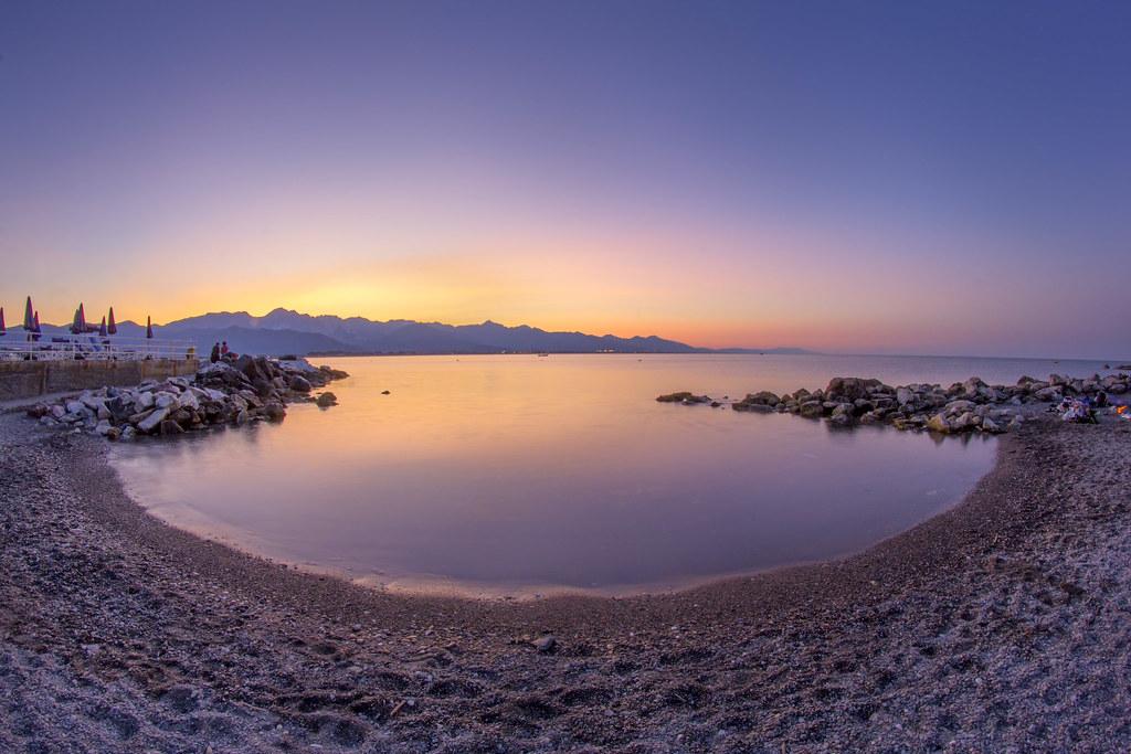 Spiaggia Fiumaretta di Ameglia  Liguria Italy  Tripcarta