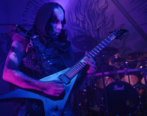 Nergal of Behemoth at the Fillmore Silver Spring