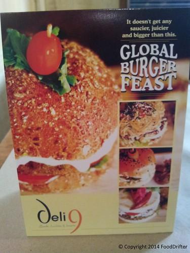 Deli 9 Burger Festival