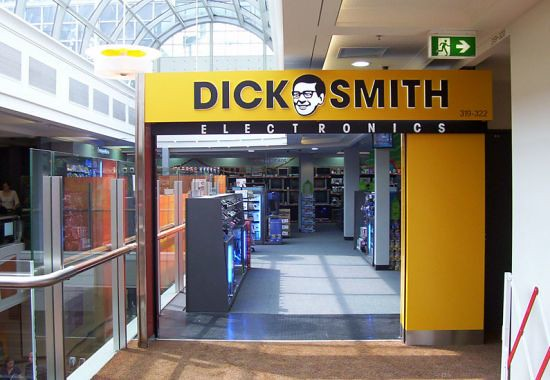 dick smith retail fitout