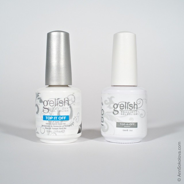 11 Gelish Top It Off original vs fake