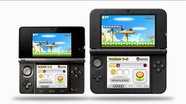 Nintendo 3DS XL portatil