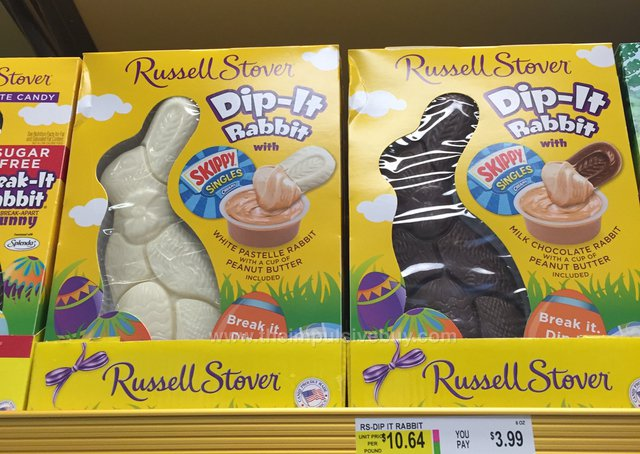 Russell Stover Dip-It Rabbit