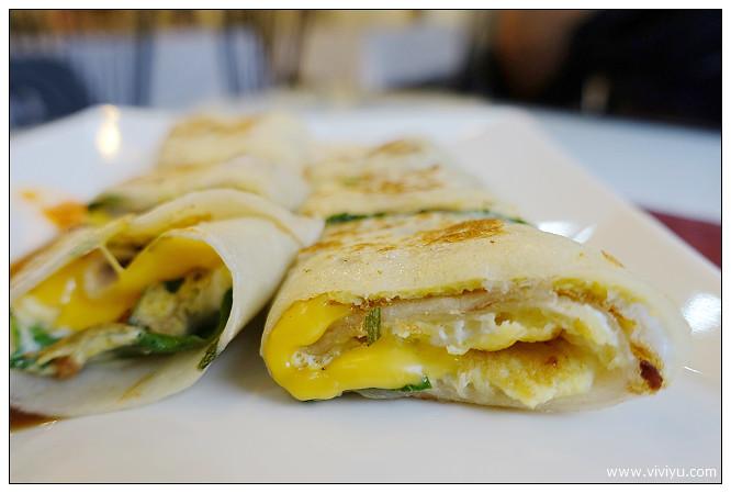 三明治,微笑曲線早午餐,早餐,桃園,美食,蛋餅 @VIVIYU小世界