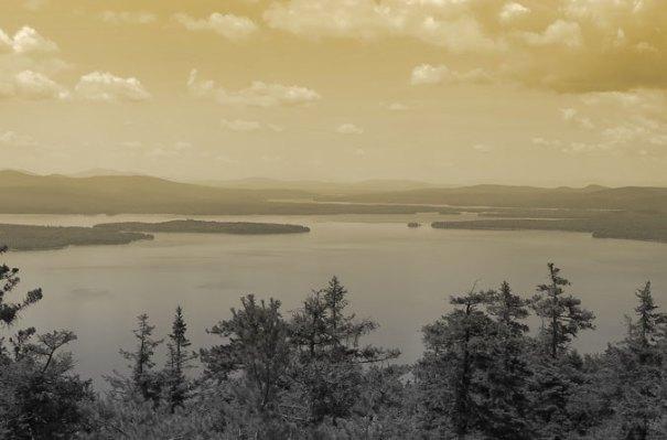 Mooselookmeguntic Lake Tinted