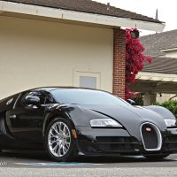 Bugatti Veyron Super Sport Spotted in Pebble Beach, CA