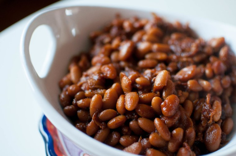 Bacon and Brown Sugar Baked Beans