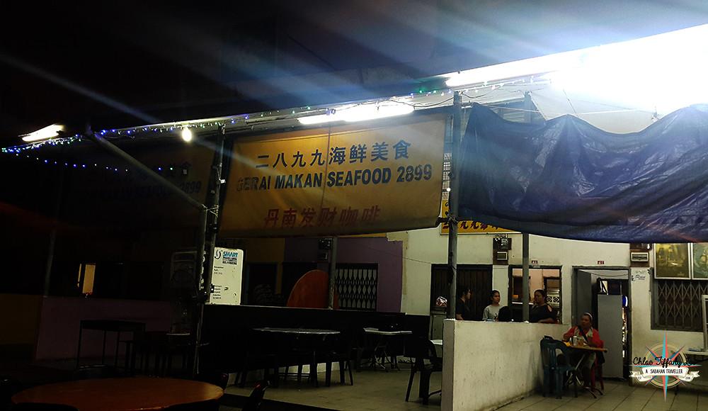 Gerai Makan Seafood 2899, Kudat Town, Sabah, 沙巴古达, Where to eat, Chloe Tiffany Lee (1)