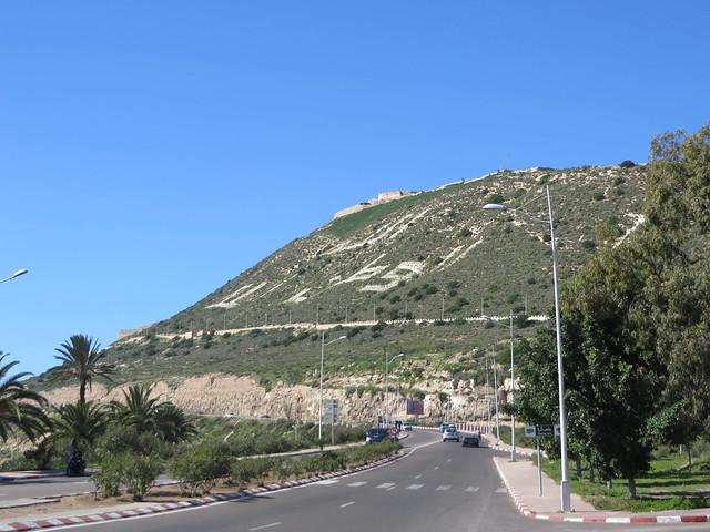 old kasbah hill, things to do in agadir, hike in agadir