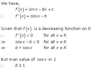 Free Online RD Sharma Class 12 Solutions Chapter 17 Increasing and Decreasing Functions Ex 17.2 Q25
