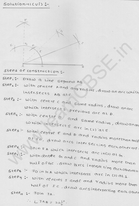 RD Sharma Class 9 solutions Chapter 17 Constructions Ex 17.2 Q 15