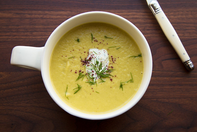 Leftover Braised Leek Soup