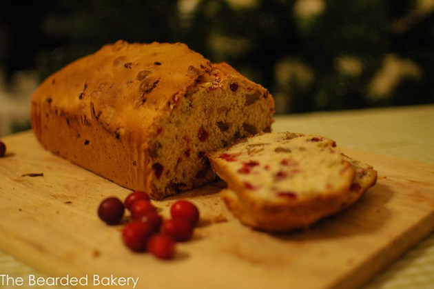 Cranberry and Orange Loaf