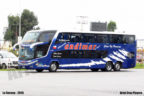 Nueva Andimar Vip - La Serena (Chile) - Marcopolo Paradiso 1800 DD G7 / Scania (FSBZ11)